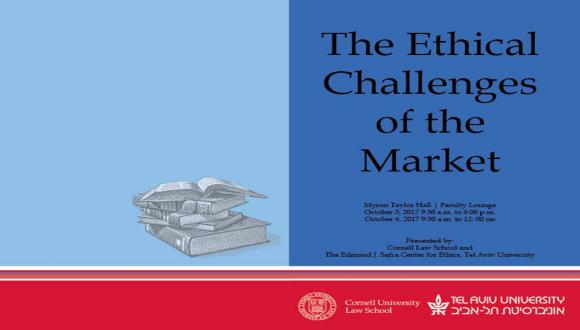 The Ethical Challenges of the Market