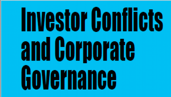Investor Conflicts and Corporate Governance