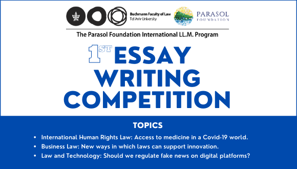 Parasol Foundation LL.M. Essay Writing Competition